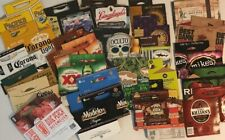 Lot of 26 Assorted Pack Beer Cardboard Holders Carriers Advertising Wall Art