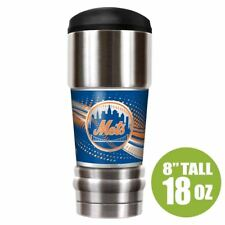 New York Mets Tumbler Insulated 18oz The MVP Stainless Steel MLB