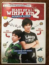 DIARY OF A WIMPY KID 2: RODRICK RULES ~ 2011 Family Comedy Favourite UK DVD
