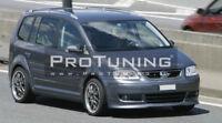 For VW Touran Caddy Front Bumper Valance Chin Spoiler Lip Addon Splitter Skirt
