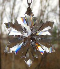 Swarovski Christmas 2014 Annual Little Snowflake Ornament New In Box #5059028