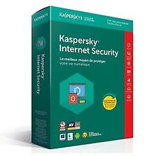 Kaspersky Internet Security 2018 - 5 Appareils- 1An, PC, Mac,Android, iOS -BOITE