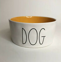 Rae Dunn Pet Bowl Used DOG Artisan Collection By Magenta