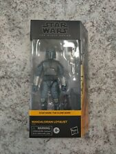 Star Wars Mandalorian Loyalist Black Series Walmart Exclusive New Ship Free