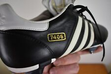 NEW Adidas 7406 SG Soccer Football Boots size 13.5 wide foot TRX leather BNIB