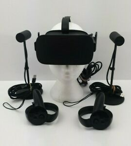 Oculus Rift VR Headset Boxed with Sensors /Controllers - UK SELLER