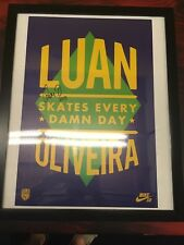 Nike SB Street League Poster- Autographed By Luan Oliveira