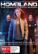 Homeland : Season 6 (DVD, 4-Disc Set) NEW