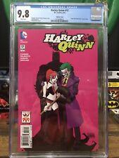 Harley Quinn #17 (The Joker Variant Cover) Cgc 9.8