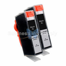 2 BLACK 564 564XL New Ink Cartridge for HP PhotoSmart 7525 B210 C310 C410 C6340