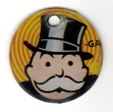 MONOPOLY Mr Moneybags Pinball Promo Plastic STERN 2001 Key Chain FOB Mister