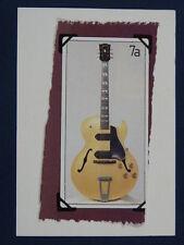 W / fait main carte de vœux avec 1956 Gibson 175N guitare