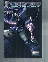 Transformers Spotlight Vol 1 by Simon Furman TPB 2007 IDW OOP 1st Print