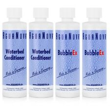 2x AguaNova Wasserbett Conditioner 250 ml , 2x Bubble Ex 400g