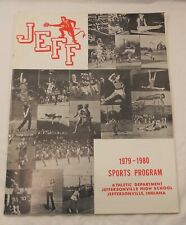 1979 1980 Jeffersonville  High School Program  Indiana IN