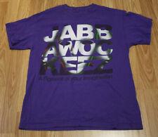 MTV Jabbawockeez America's Best Dance Crew Face Fill Logo Purple T-shirt Medium
