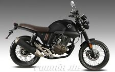 ZIPP 125-V CAFE RACER 125 ccm MOTORRAD, 3 FARBEN, EURO 4, NEUFAHRZEUG