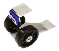 C27190BLUE Integy Metal Machined Wheelie Bar Kit for Traxxas X-Maxx 4X4