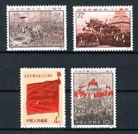 China VR MiNr. 1070-73 postfrisch MNH (D713