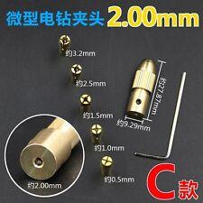 Small Electric Copper Drill Bit Collet Micro Board Wood Twist Chuck Useful new