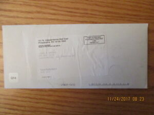 Q20 US MINT 2001 New York State Quarter First Day Cover Sealed Envelope