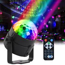 Discokugel Lichteffekt LED Party Disco RGB Bühnenbeleuchtung Fernbedienung