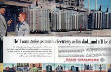 1958 2 Page Original Vintage Alli
