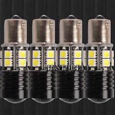 4PCS BA15S 1156 LED Backup Reverse Light R5+12-SMD Tail Bulb 1141 7506