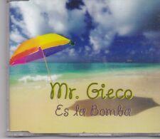 Mr Gieco-Es La Bomba cd amxi single