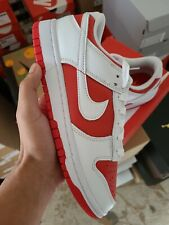 New listing Size 7.5 - Nike Dunk Low White University Red
