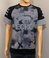 NWT Ecko Unltd Men's Short Sleeve Graphic Tee Shirt Gray Camo Size M