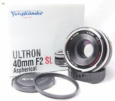 Voigtlander Ultron ASPH 40mm F2 SL For Nikon Ai-s Lens