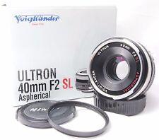 Voigtlander Ultron ASPH 40mm F2 SL For Nikon Ai-s Lens