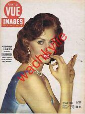 Point de vue n°426 du 10/08/1956 Sophia Loren Pieuvre Plongée Robert Lamoureux