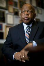 Activist & Democrat Congressman John Lewis photograph - glossy A4 print