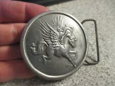 Pegasus Belt Buckle-Dege Designs - Vintage 1976 Collectible