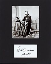 GENERAL GEORGE CUSTER   CUSTOM  8 by 10  REPRINT PHOTO & REPRINT  AUTOGRAPH