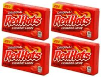 4x Original Red Hots Cinnamon Candy 26g American Sweets Free Shipping