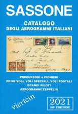 SASSONE 1 CATALOGO DEGLI AEROGRAMMI ITALIANI 2021