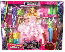 Dresses For Barbie Dolls Clothes Accessories Toys Dream Sets Closet (12 Piece)