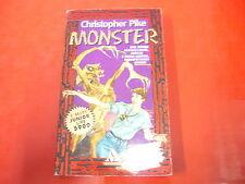 CHRISTOPHER PIKE:MONSTER. MONDADORI 1996 MITI JUNIOR n.3 BRIVIDO TENEBRE&MISTERO