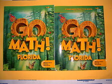 Go Math! Florida Student Edition & Practice Book Grade 1 @2015