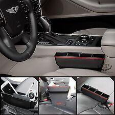 VIP Car Storage Seat Side Between Pocket Multi Purpose Utility Case Red