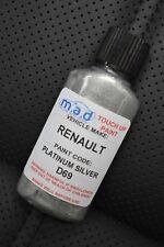 Renault Platino Plata Pintura D69 TED69 Clio Kit de Retoque 30ml 182