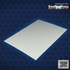PLAST Craft GIOCHI SCENICS NUOVO CON SCATOLA scenari - 2mm esagonali trama PVC TAVOLA