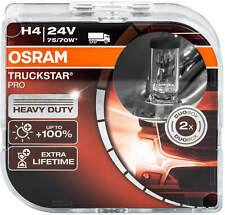 Osram Truckstar Pro H4 64196TSP-HCB trucks 2 pc Duo Box
