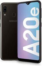 NUOVO Samsung Galaxy A20e Nero 32GB Dual Sim Android 4G LTE Smartphone Sbloccato