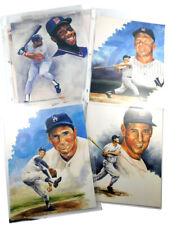 (12) T. Houle & Ross Cunningham HOF 8 x 10 Prints Mickey Mantle Hank Aaron ++