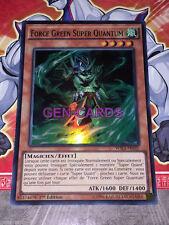 Carte YU GI OH FORCE GREEN SUPER QUANTUM WIRA-FR031