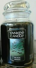 Yankee Candle Black Magic  22 oz.  NEW 1 Single   Free Shipping.